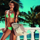 Barbara Palvin - Twin Set Beachwear