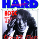 Ronald Belford Scott - Hard Force Magazine Cover [France] (January 1990)
