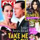 Angelina Jolie, Brad Pitt - OK! Magazine Cover [Australia] (7 November 2016)